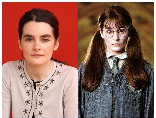 Did You Know The Actress Shirley Henderson Who Played The 14 Year Old Moaning Myrtle The Ghost In The Bath Harry Potter Series Moaning Myrtle Actresses