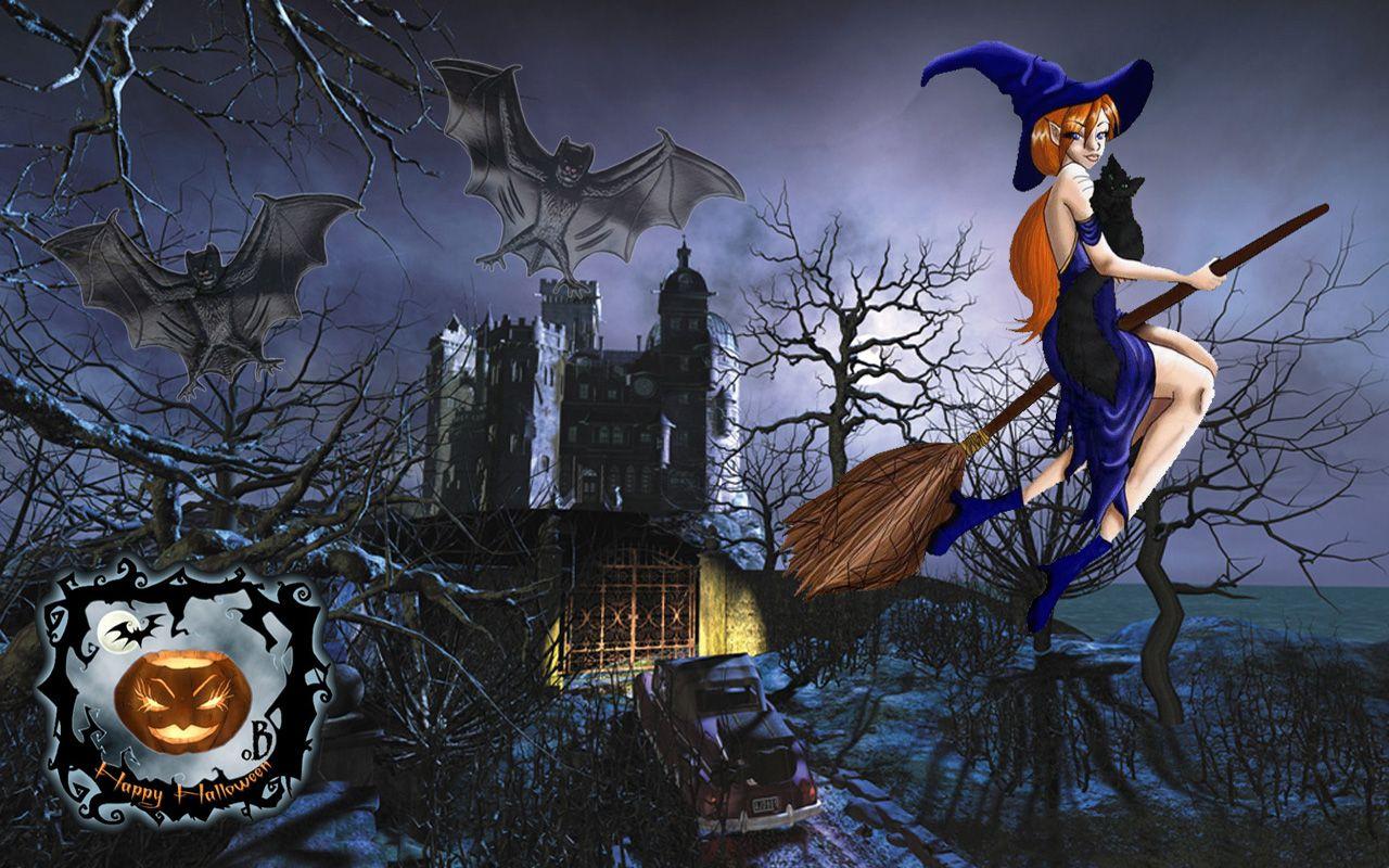 halloween screensavers and backgrounds | Halloween wallpaper ...