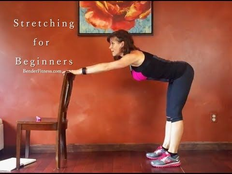 (16) Beginner Stretch: Seated and Standing Stretches for Flexibility - YouTube
