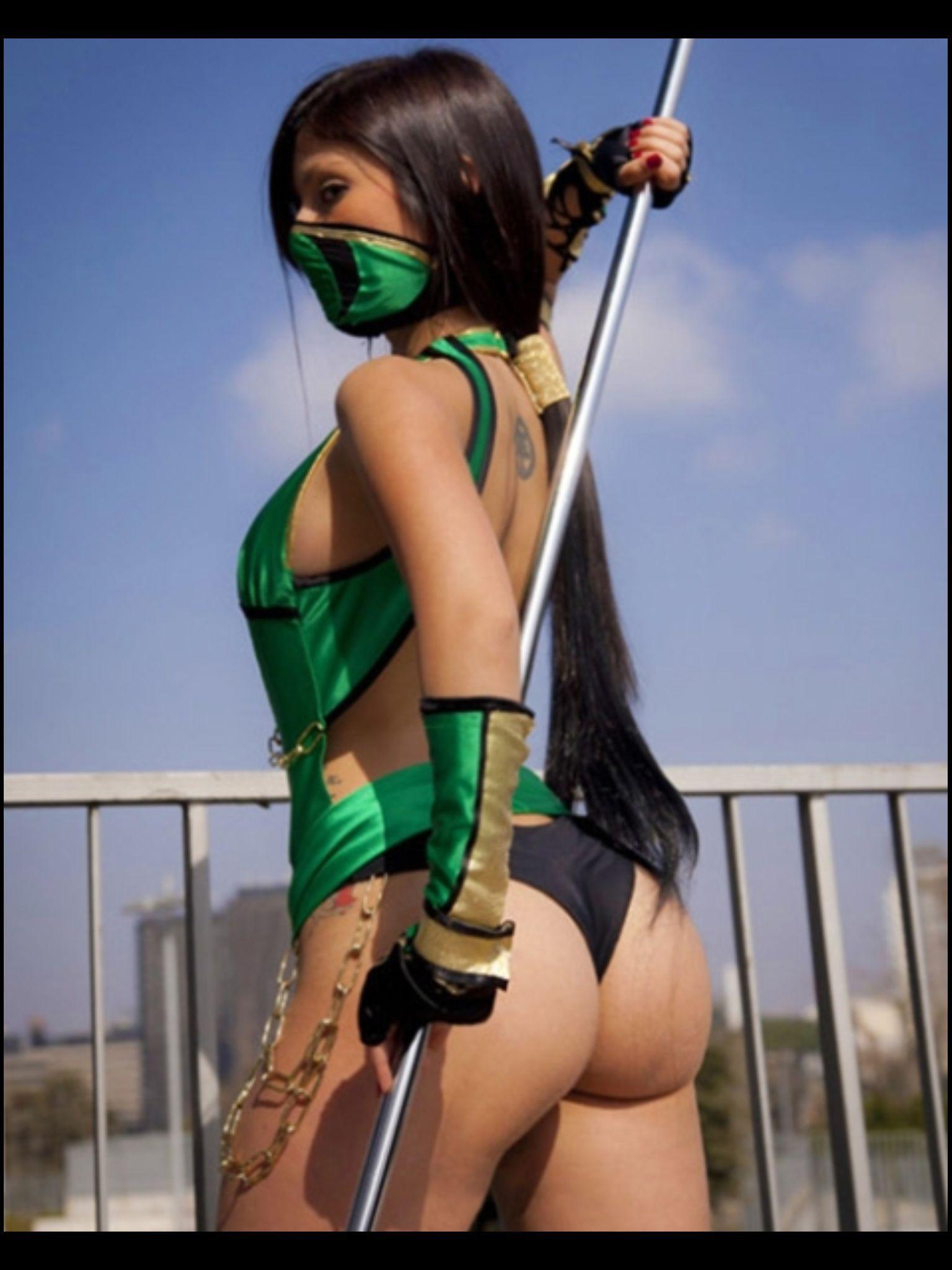 Sexy Superhero Hot Girls Jade On Mortal Kombat  Hot Girl -6121