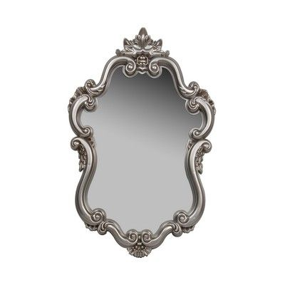 Champagne Silver Baroque Mirror 51x80cm Range Spiegel