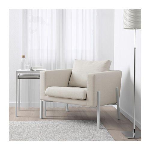KOARP Sessel, Orrsta hellblau, weiß Sessel, Ikea und Wohnzimmer