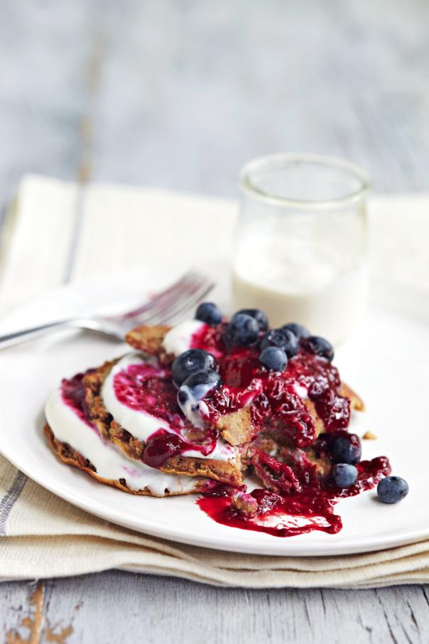 American Style Buckwheat Pancakes