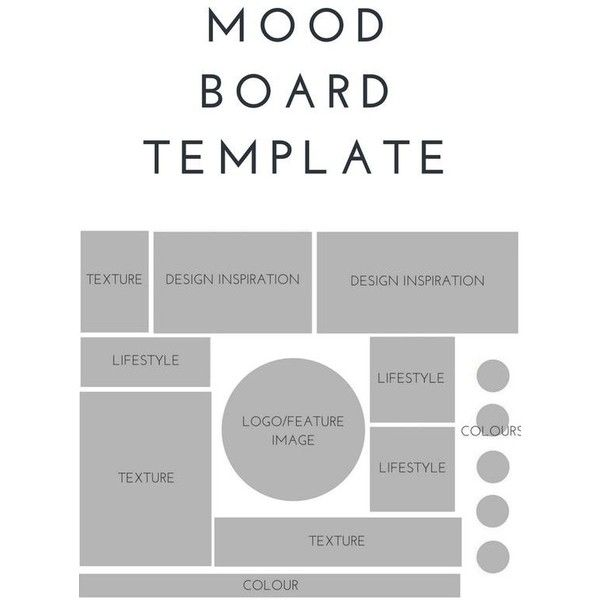 HOW TO MAKE A MOOD BOARD Mood boards, June and Board - inspiration 10 statement template