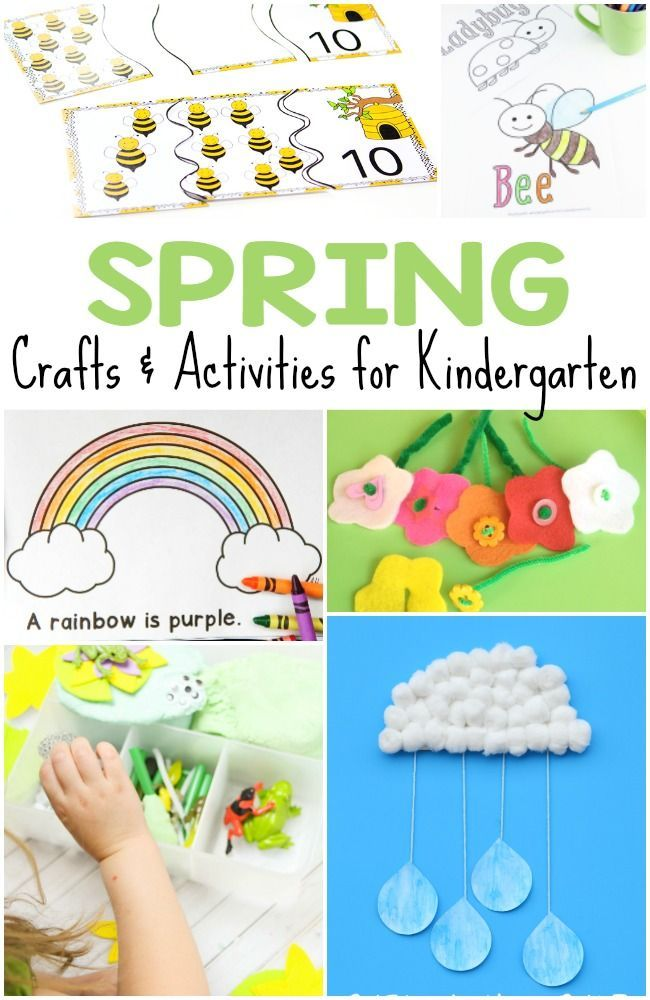 50 Spring Crafts And Activities For Kids Spring Teaching Ideas