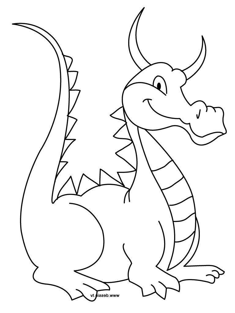Dessin Dragon Facile