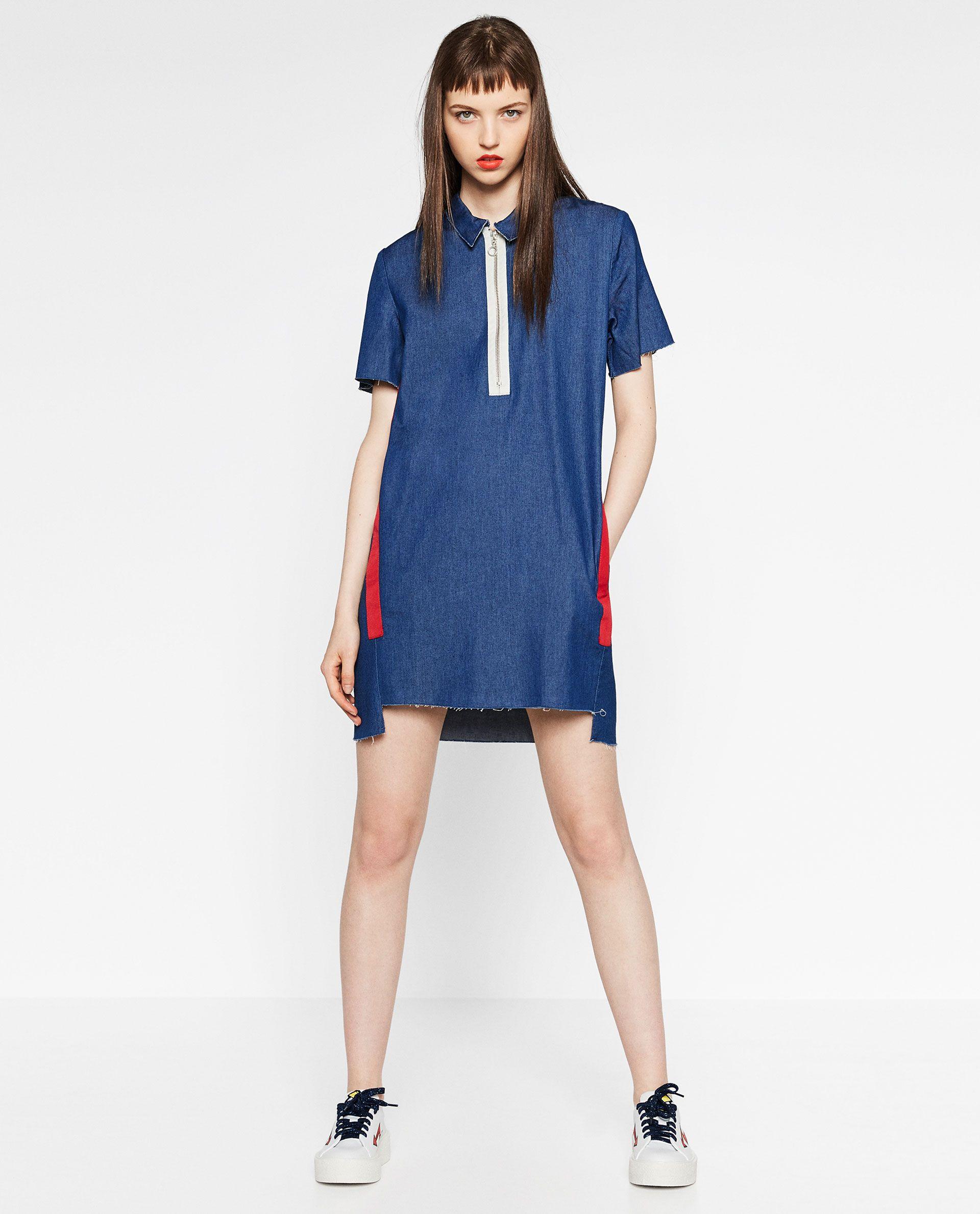 Zara robe en jean