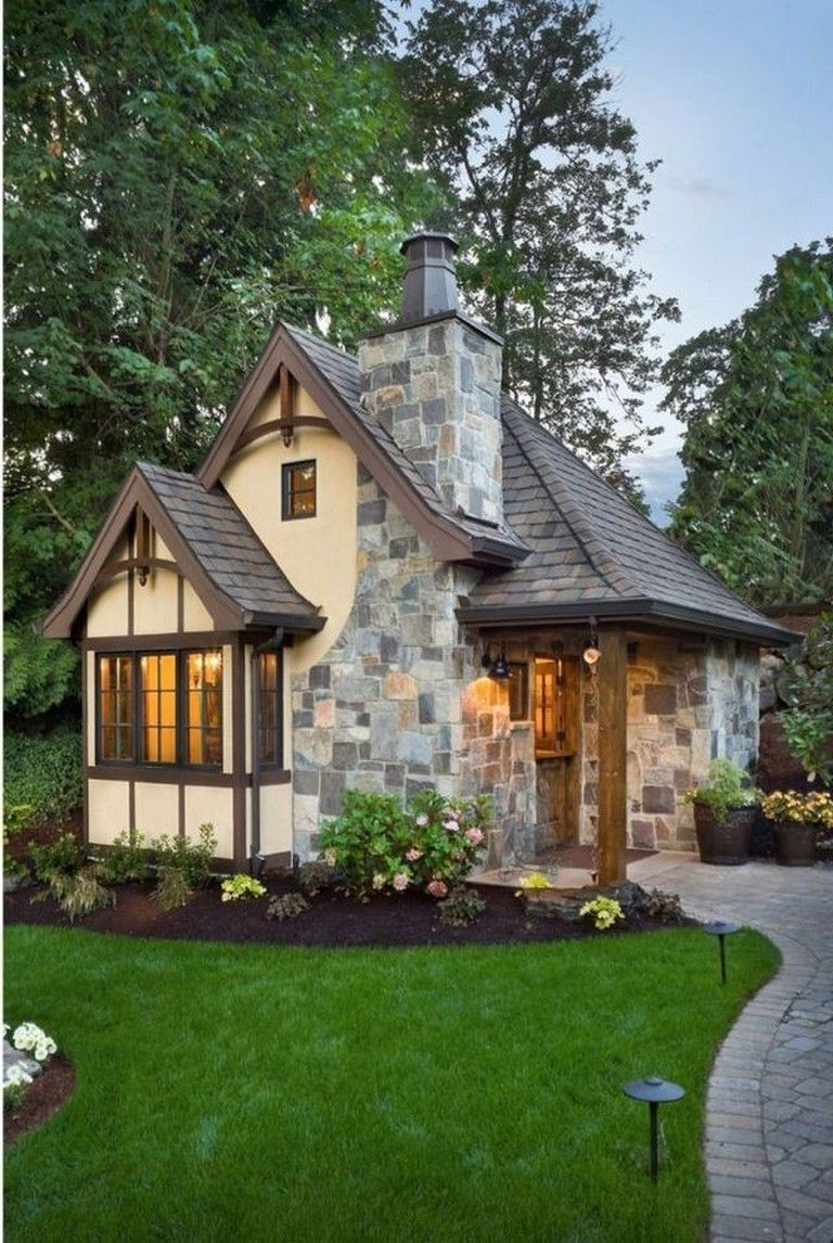 50 Exciting Victorian Tiny House Amazing Ideas Small Cottage Homes Small Cottage House Plans Cottage House Plans