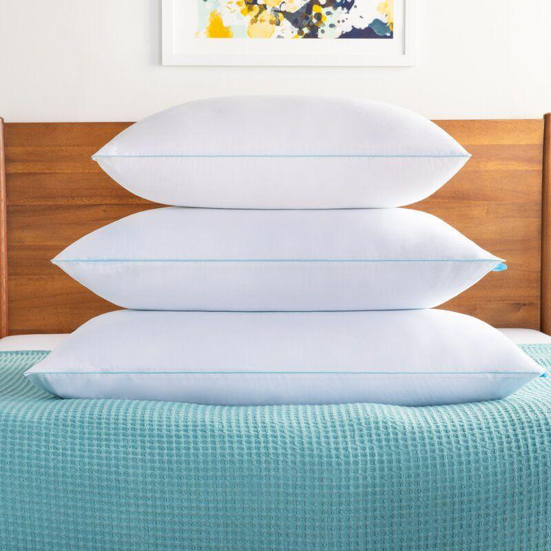 Medium Gel Memory Foam And Memory Foam Cooling Bed Pillow In 2020