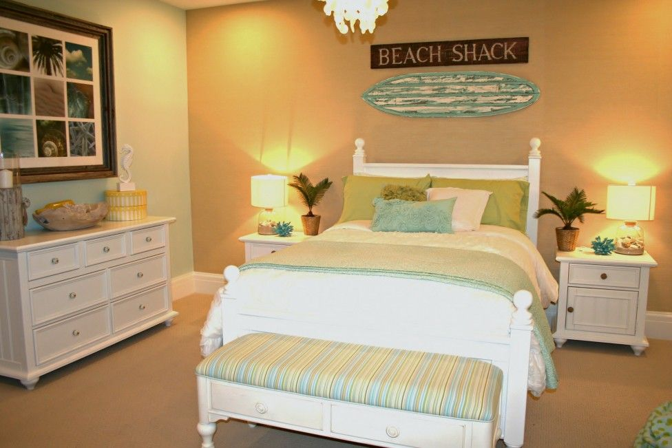 Excellent Yellow Beach Themed Bedrooms Beach Themed Room Decor The