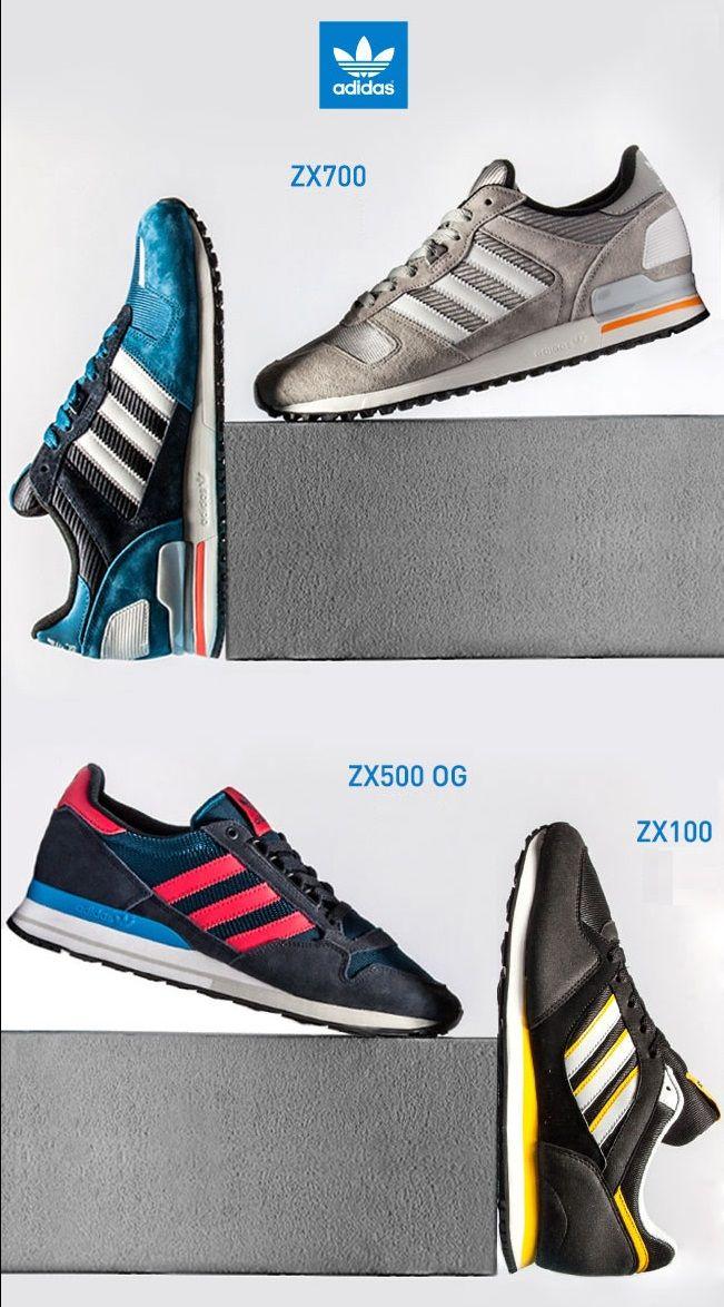 adidas Originals ZX ZX100 Collection ZX700, ZX500, ZX100 ZX | Zapatos 901a36