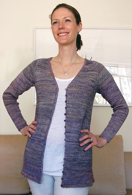 8e17a98338436d Ravelry  Lupin Cardigan to Knit pattern by Val Love