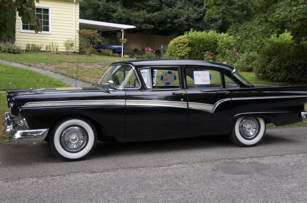 1957 Ford Custom Classic Cars Classic Cars Vintage Vintage Cars