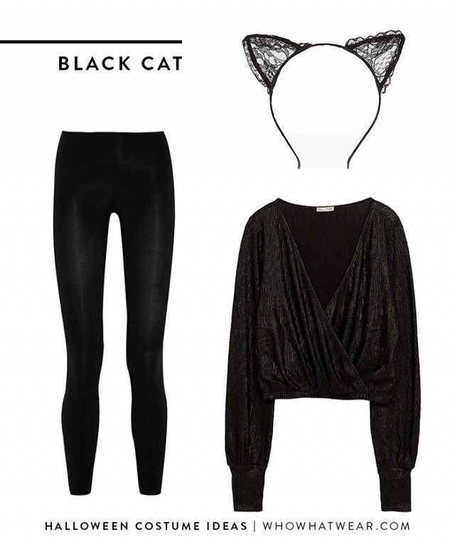 3286409d07ca9c 7 Halloween Costume Ideas That Involve Leggings | Halloween | Black ...