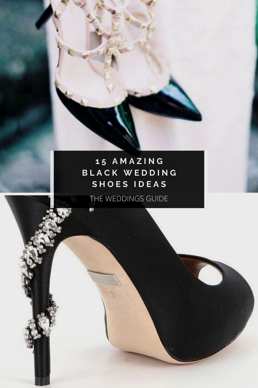 Amazing Black Wedding Shoes Ideas In 2020 Black Wedding Shoes Wedding Shoes Bride Shoes
