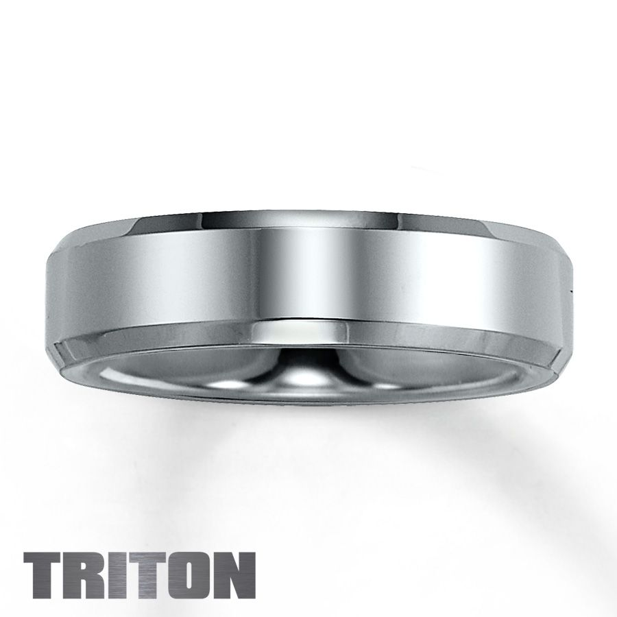 Jared Mens Band Tungsten Carbide Ill never get married