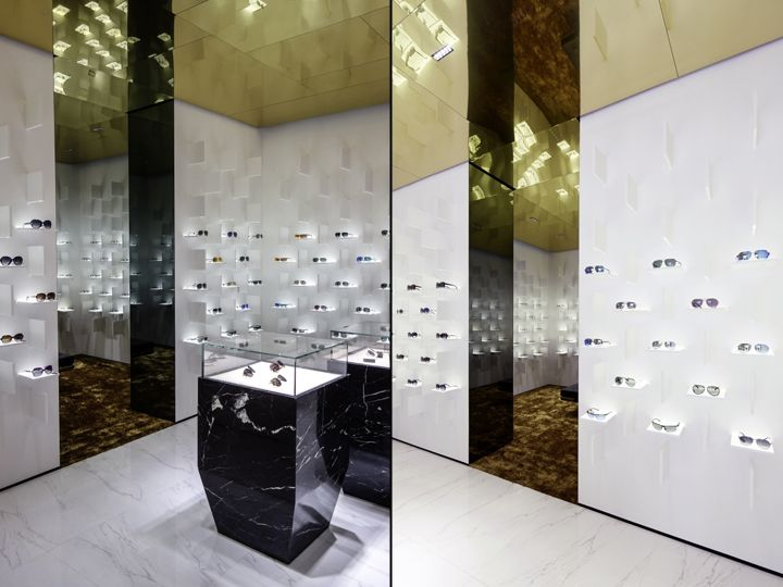 Bolon Eyewear Store By Ippolito Fleitz Group Shanghai China Retail Design Blog Retail Store Design Retail Design Eyewear Store