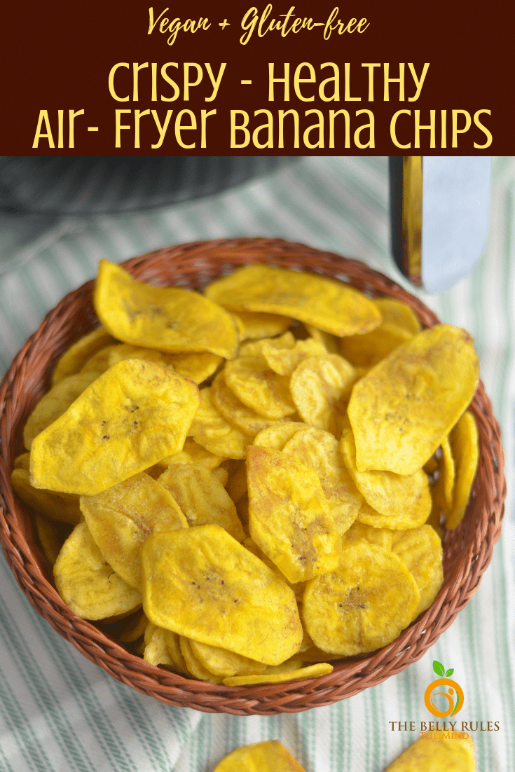 Healthy Plantain chips / Healthy Banana chips The Belly