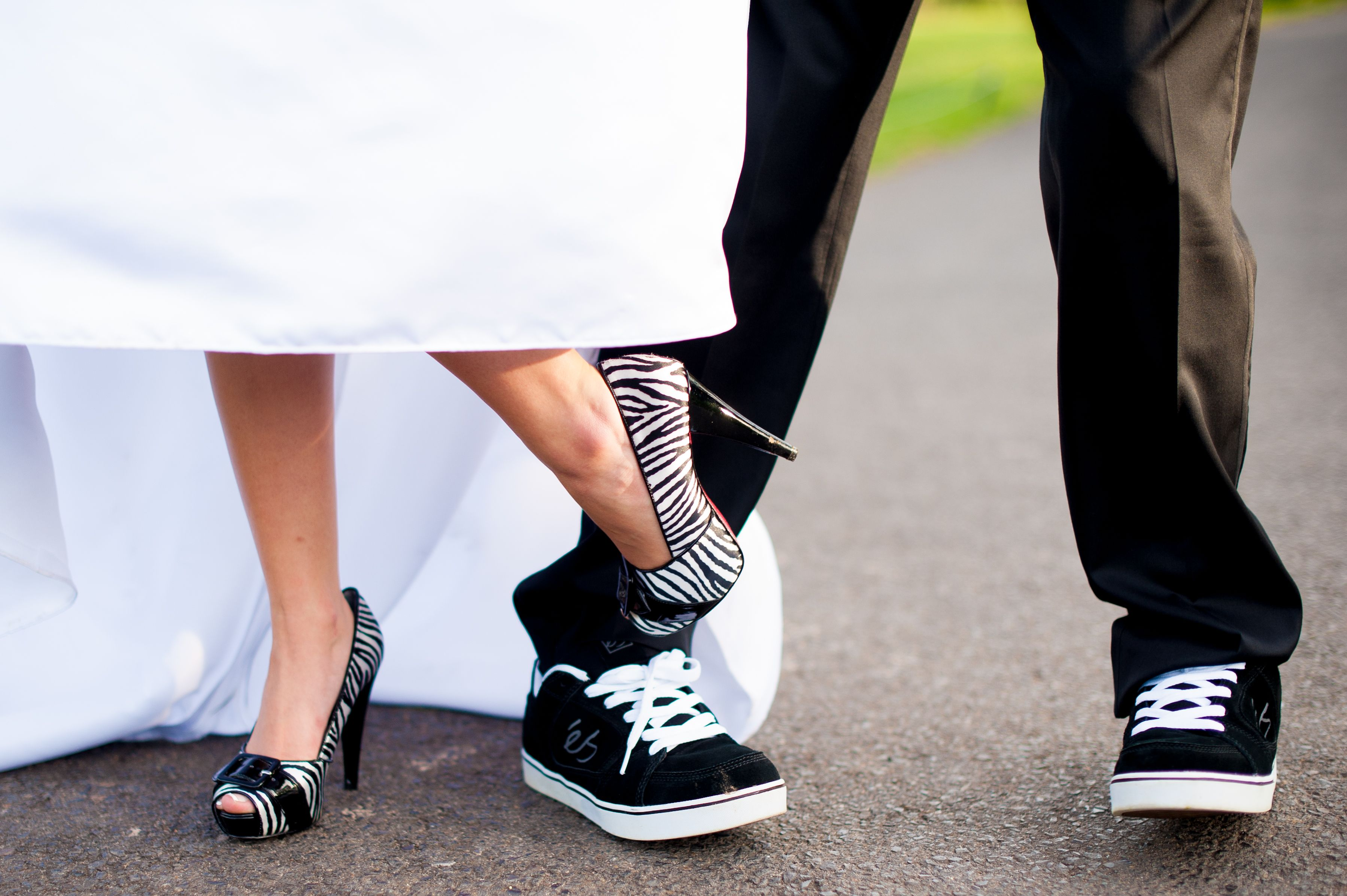 Bride and Groom Wedding Shoes @ Rebekahhoyt Photography