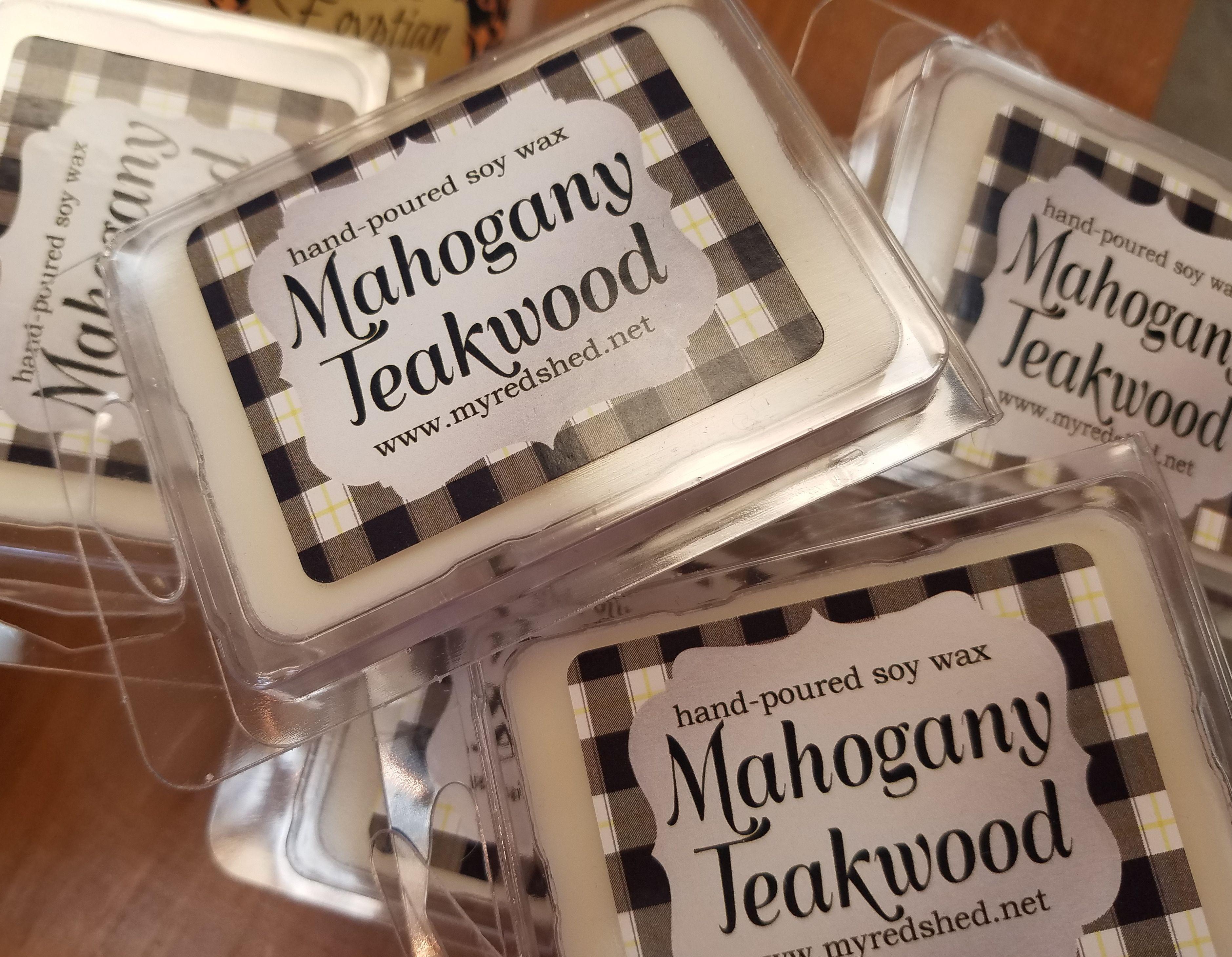 Soy Wax Melts Mahogany Teakwood