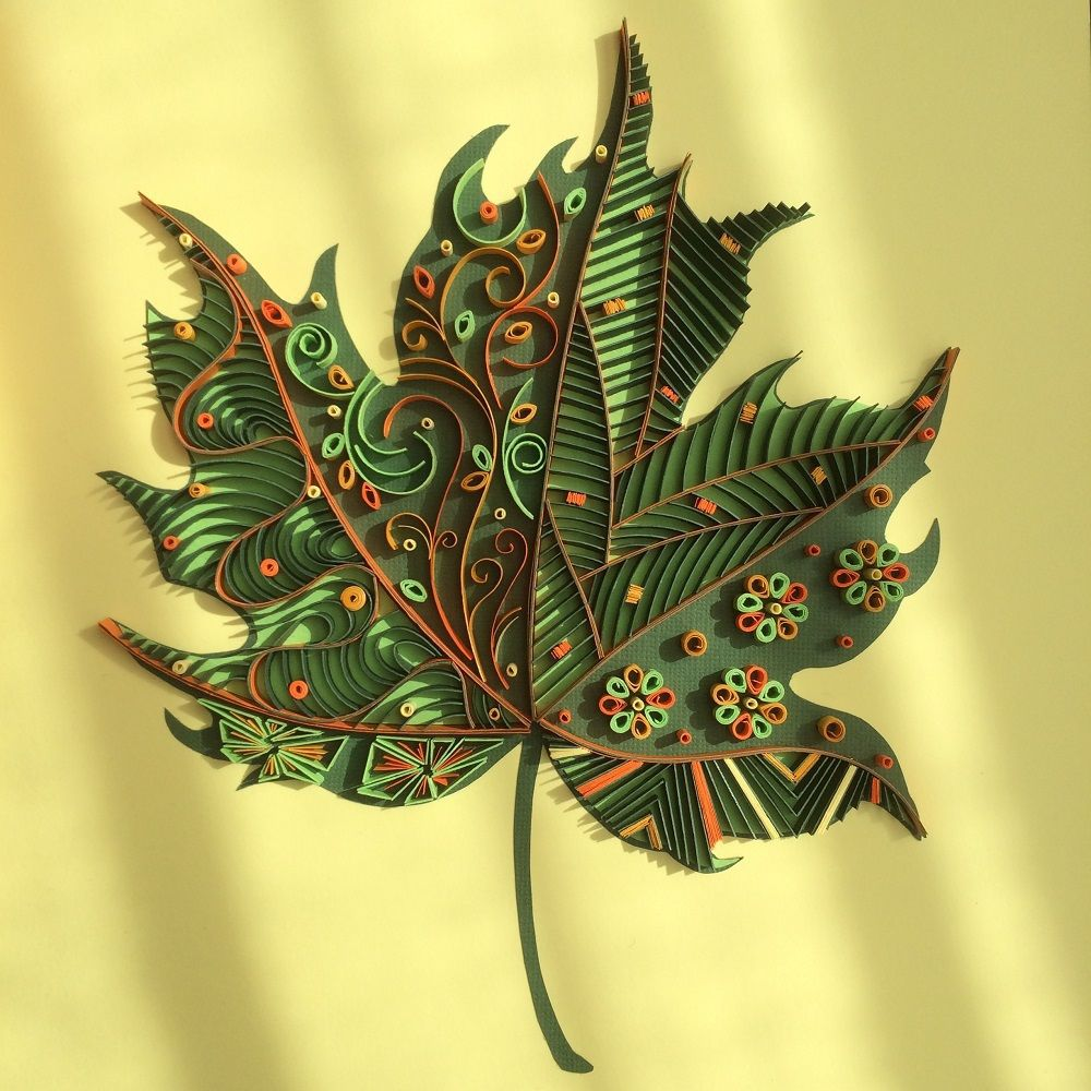 """Check out this @Behance project: """"Maple Leaf"""" https://www.behance ..."""