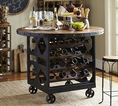horseshoe wine holder tables - Google Search