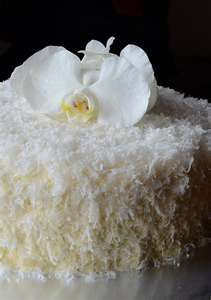 ... , romantic-looking Southern Coconut Cake was moist and delicious