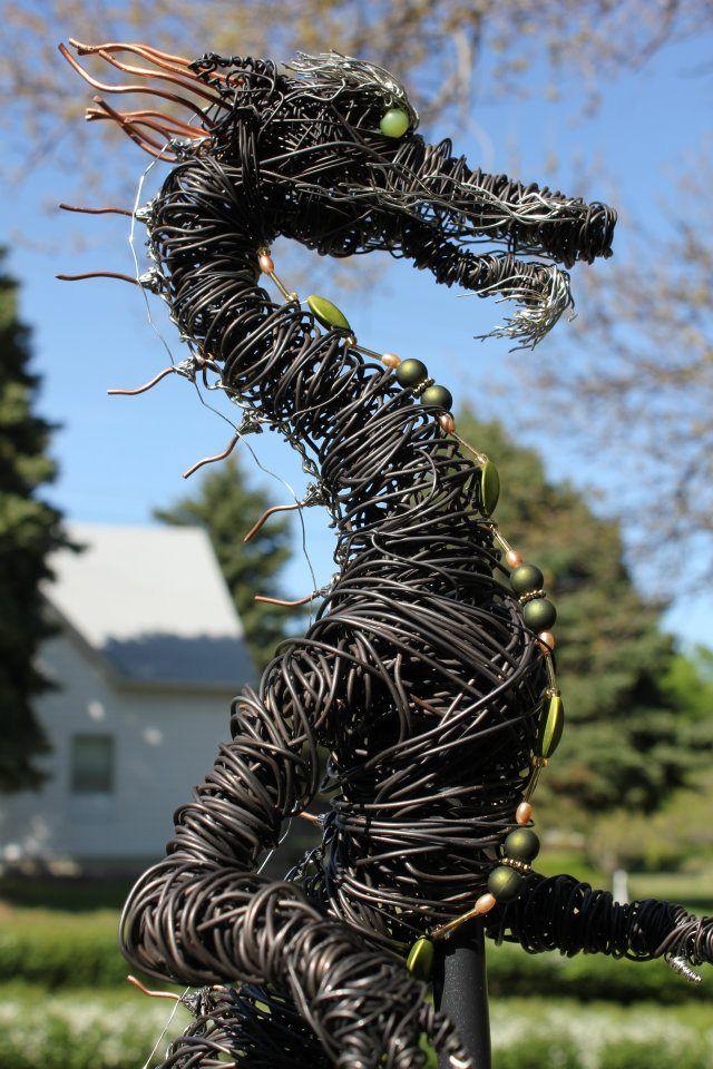 Art Gone Haywire   Dragons - Modern Sculpture   Pinterest   Draht ...