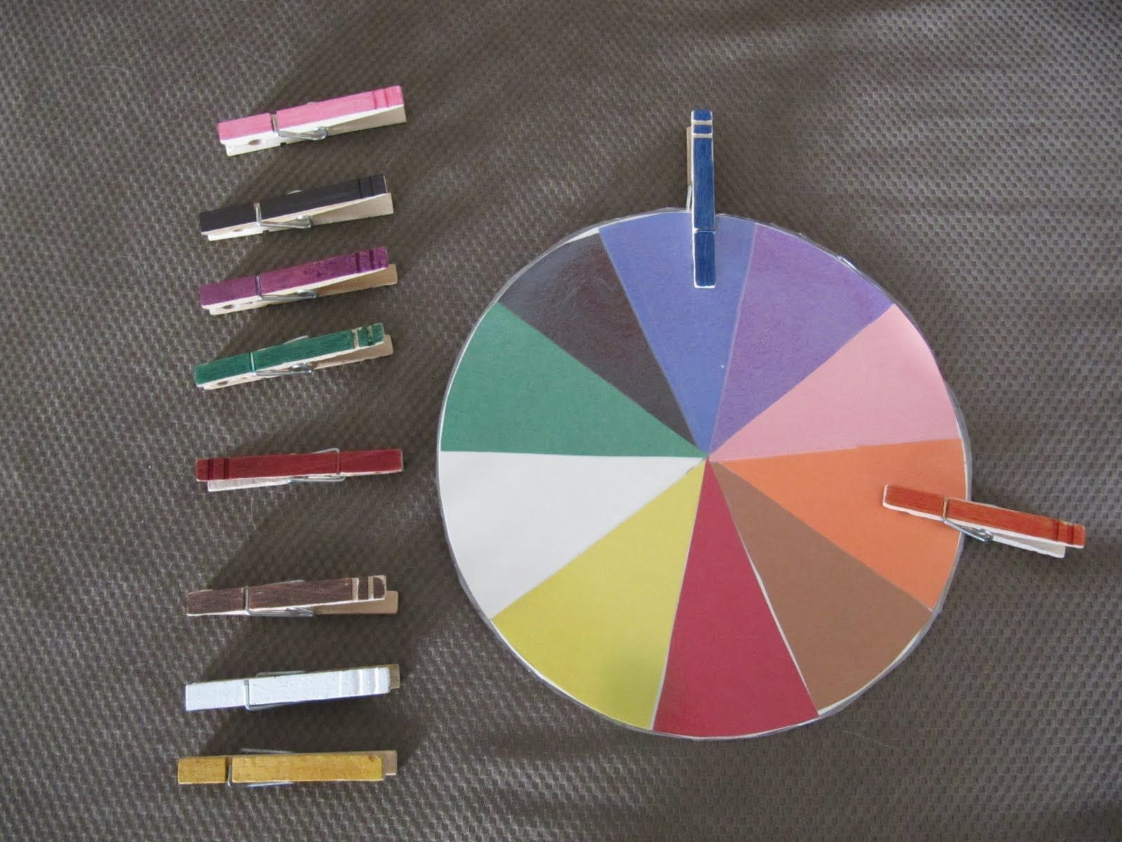 Color Match Clothespin