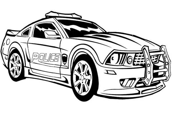 Transformers Autobot Transform To Police Car In Transformers Coloring Page Race Car Coloring Pages Cars Coloring Pages Truck Coloring Pages