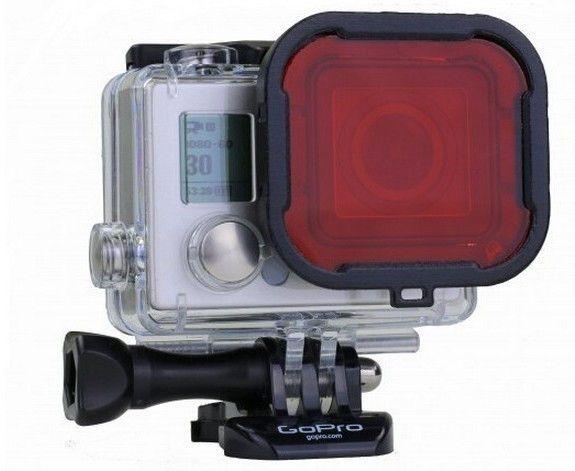 Diving Waterproof Lens Filter For GoPro Hero 3+ Red // $24.07 //  Free shipping worldwide // #GoPro #goprooftheday #goprohero3 #goprohero #goprohero4 #goprouniverse #goprophotography #goprophotography_ #goproeverything #gopro3 #gopro4 #goproid #goproselfi