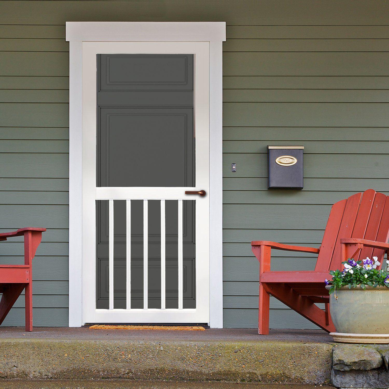 Screen Door Vinyl Victoria Front Door Styles Front Door Design Screen Door