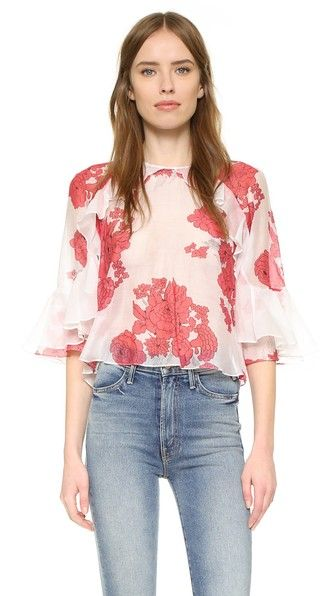 Buy Hot Pink, Purple Alice mccall Crop top for woman at best price. Compare  Tops prices from online stores like Shopbop - Wossel United States