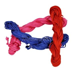 Nylon Cord Thread Jade Rope Rattail DIY For Braided Bracelet 7 Colors US$1.10
