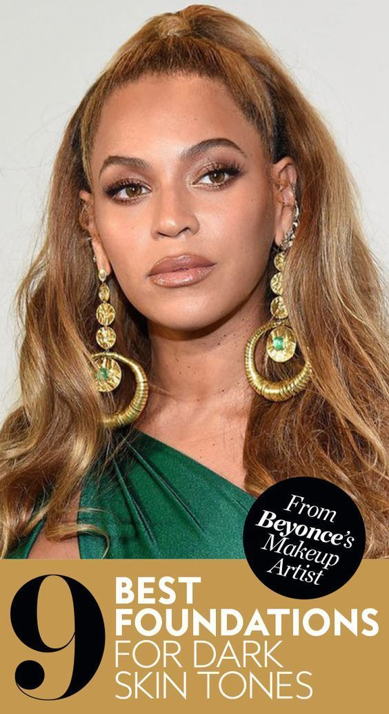 The Best Foundations for Dark Skin Tones, According to