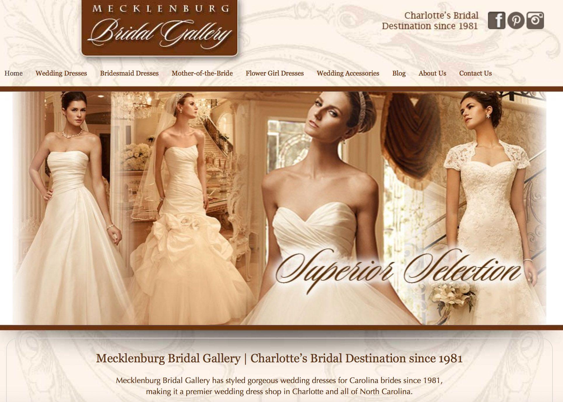 Mecklenburg Bridal Gallery | Charlotte, NC Bridal Shop | Wedding ...
