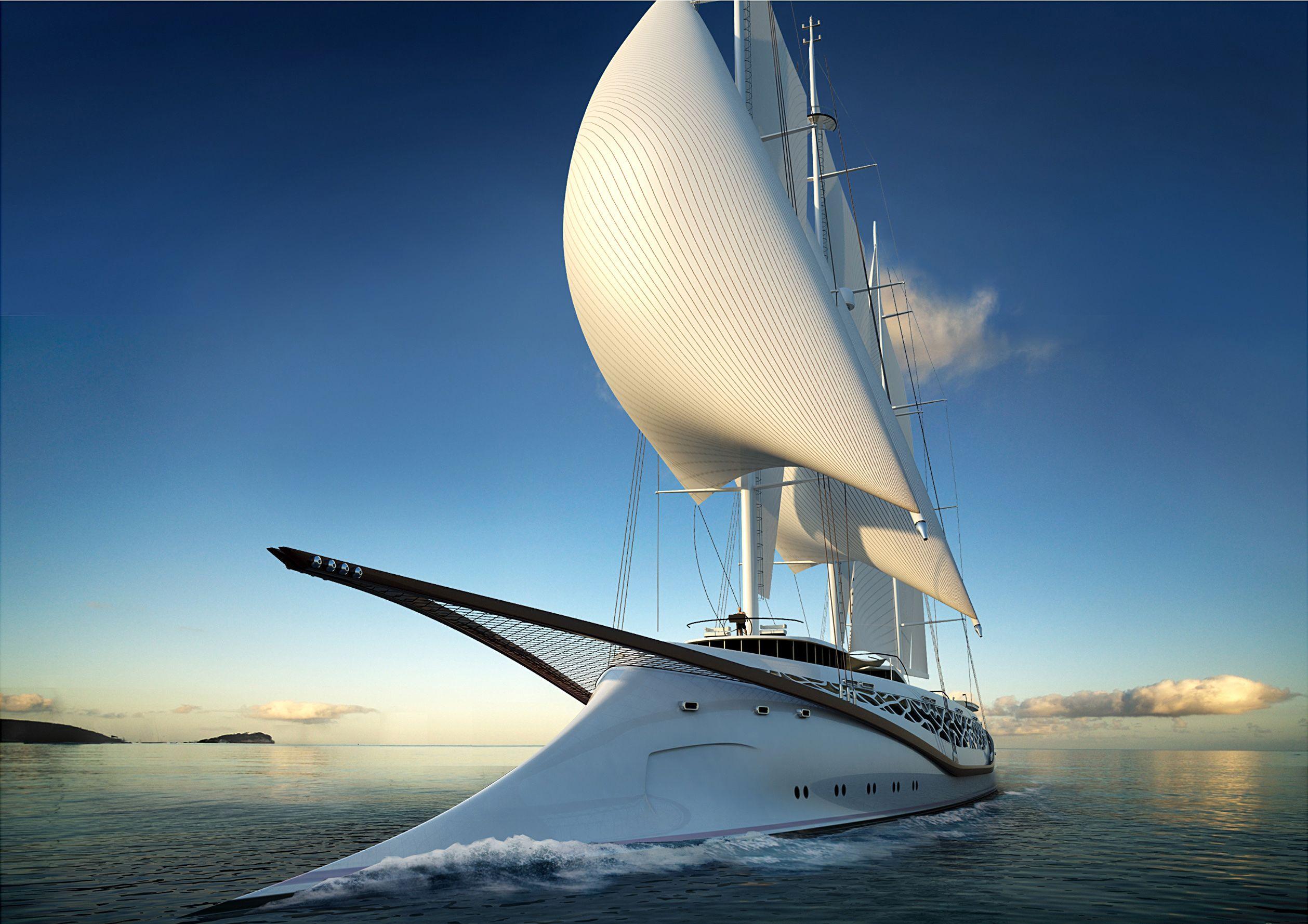 Sailing Yachts Wallpaper Yacht Sail Travel Vacation