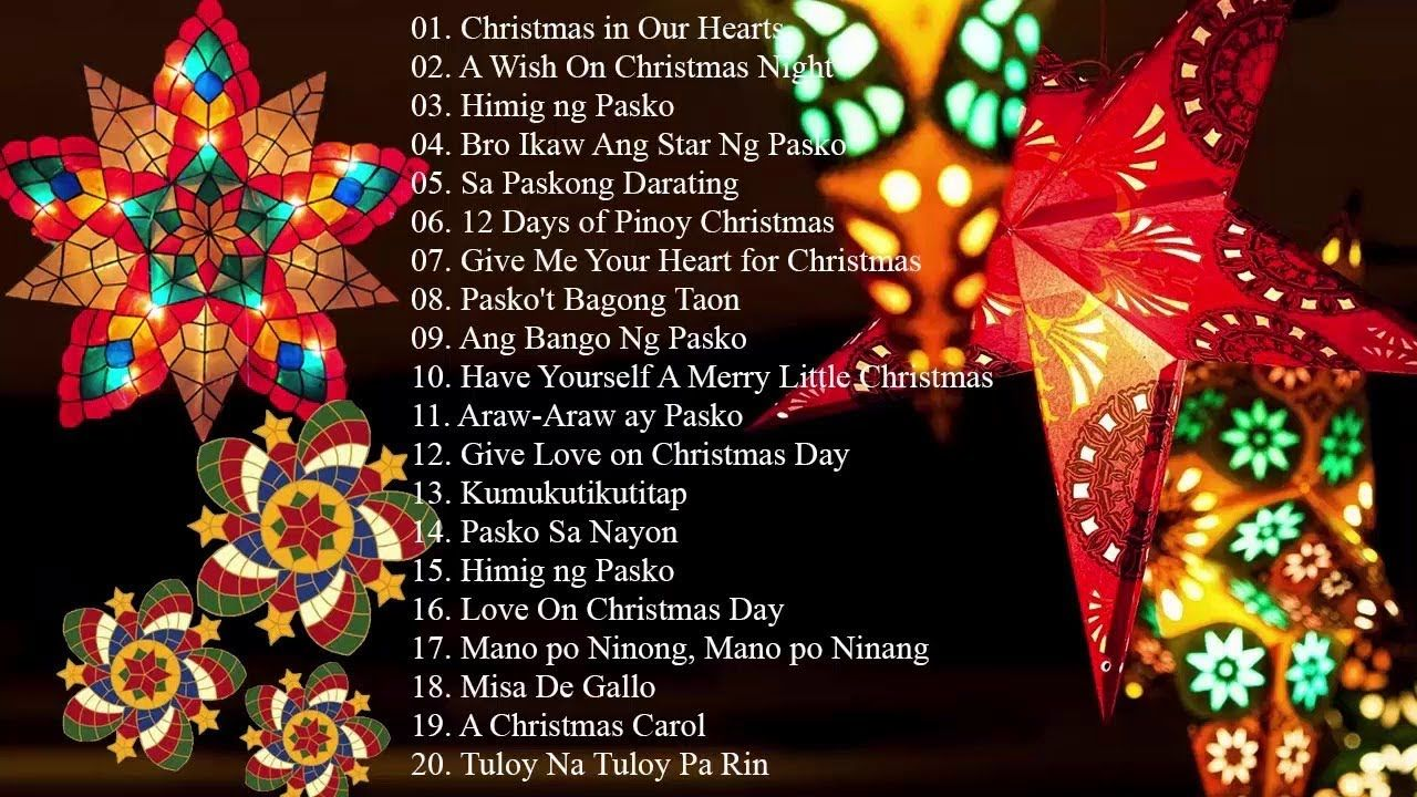 Paskong Pinoy Best Tagalog Christmas Songs 2018 Top
