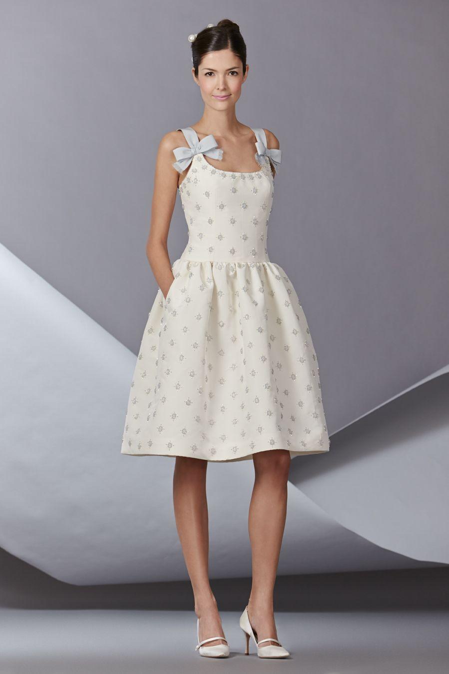 Belle #CarolinaHerrera #Bridal #Fall2014 www.carolinaherrerabride.com