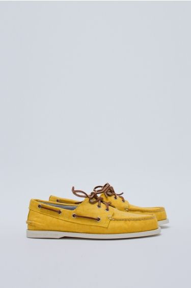 3 Eye Boat Shoe - Yellow