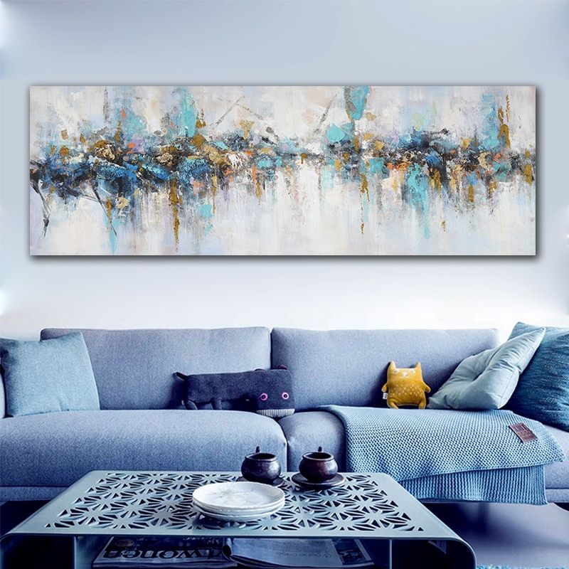 Modern Canvas Painting Abstract Big Size Wall Art Living Room Decoration Pictures Canvas Printings Home Decor Modern Canvas Painting Living Room Art Prints Modern Art Paintings Abstract