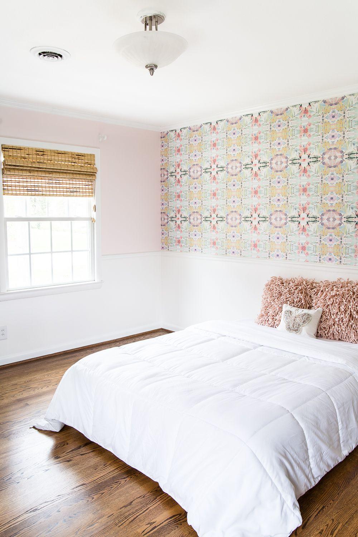 Best New Wallpaper In Our Little Girl S Bedroom Girls Bedroom 400 x 300