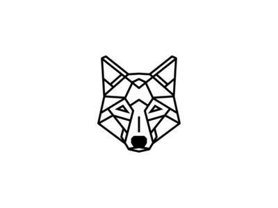 Geometric Fox/Wolf