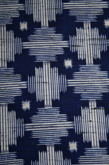 Used on a pattern, indigo is truly brings out the design of the pattern itself.