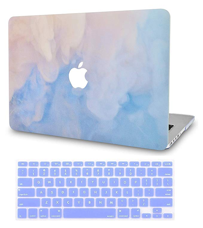 Amazon Com Luvcase 2 In 1 Rubberized Hard Shell Case With Keyboard Cover Compatible Macbook Air 13 I Macbook Air Cover Macbook Cover Stickers Macbook Air Case