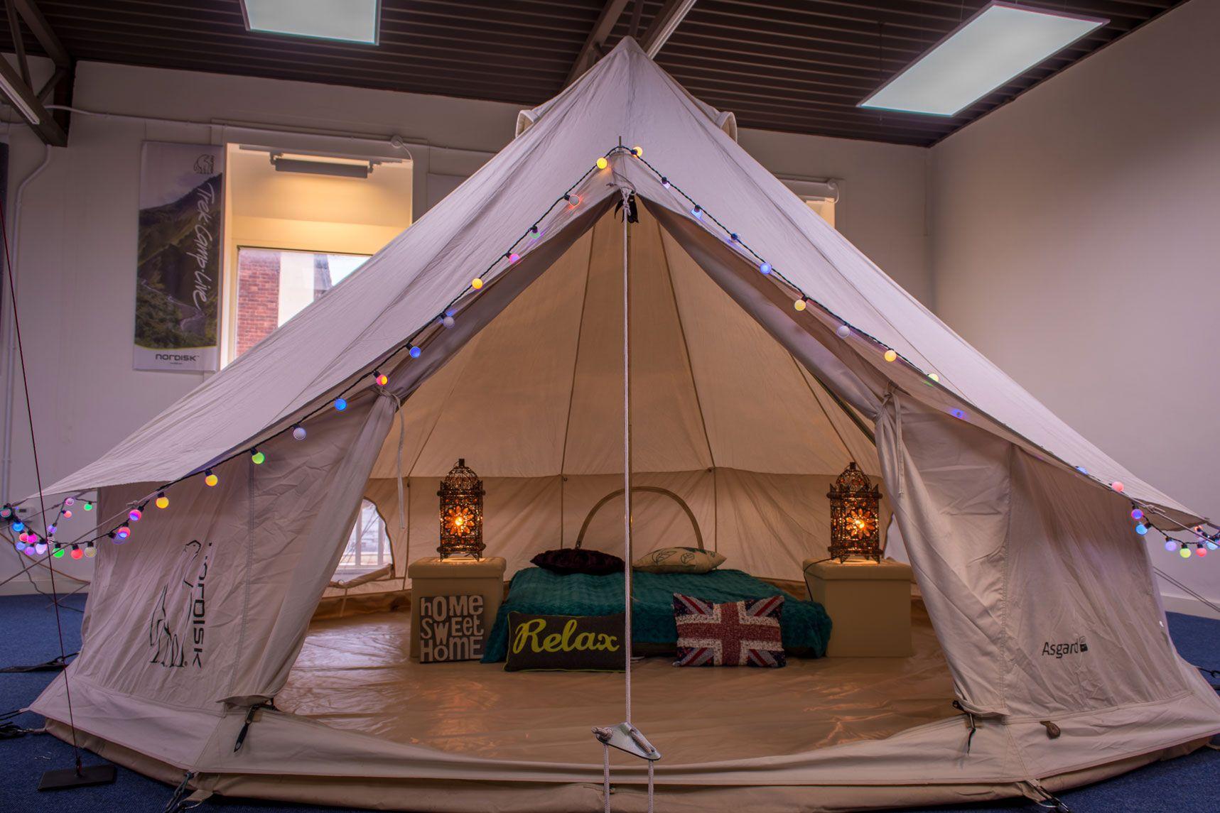 Nordisk Asgard 12.6 | Tent glamping, Tent, Market tent