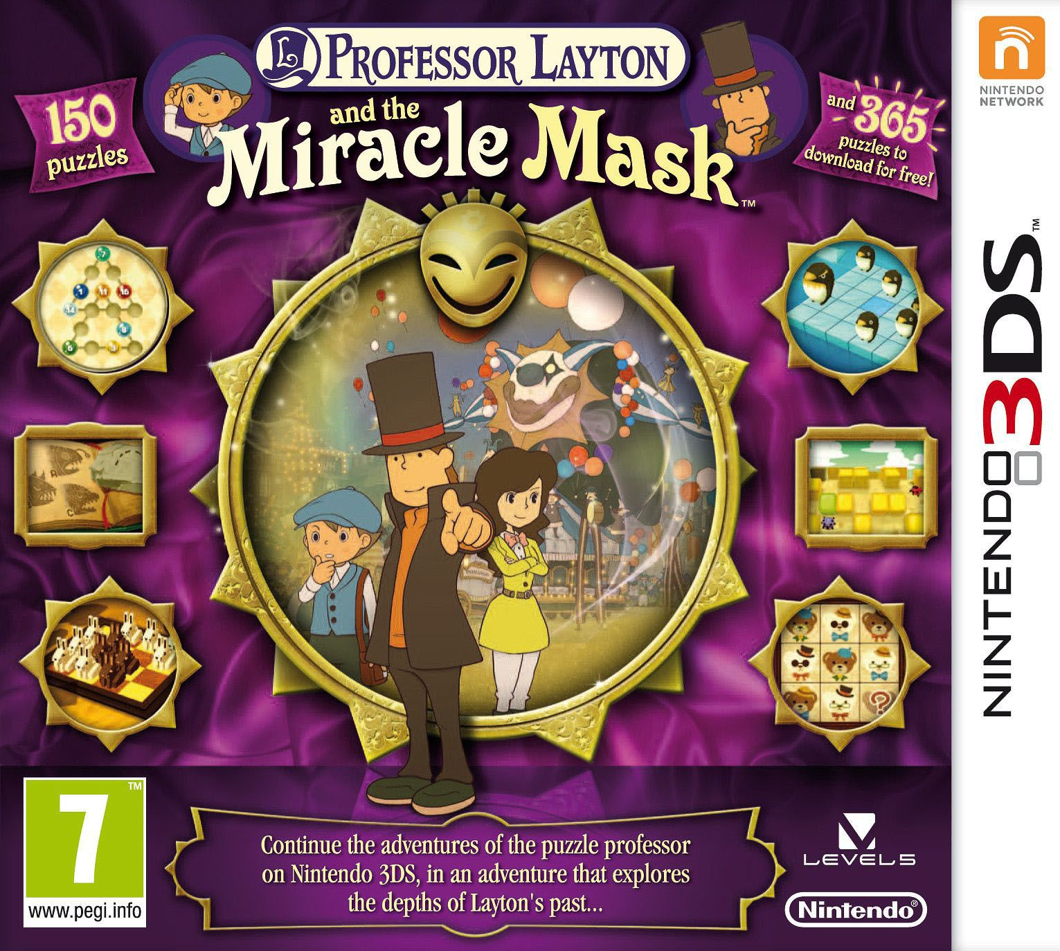 Download Professor Layton And The Miracle Mask 3ds Rom With