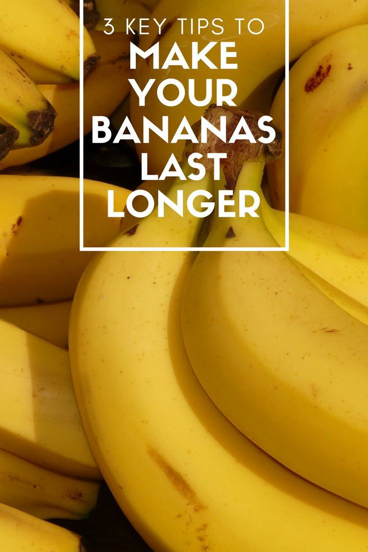 3 Key Tips To Make Your Bananas Last Longer Keeping Food Is A Critical Skill If You Want Be Prepared Banana Plastic Wrap Hack Preserving