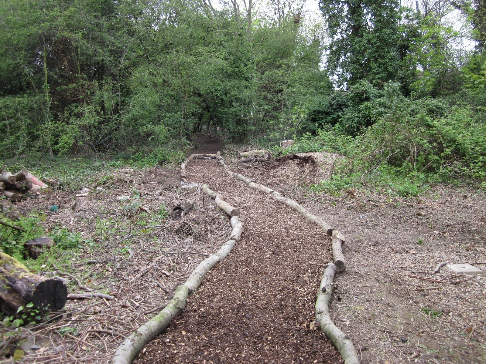 Border For Wood Chip Path   Google Search