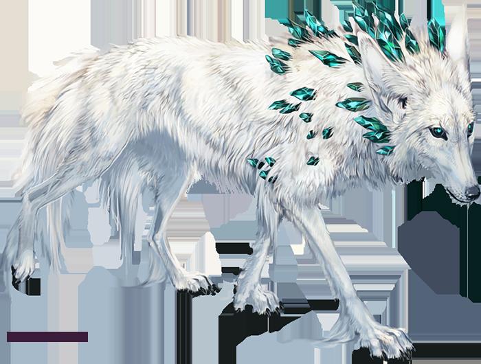 The Shaman By Tatchit Fey Shadow Winter Diamond Gem Gemstone White